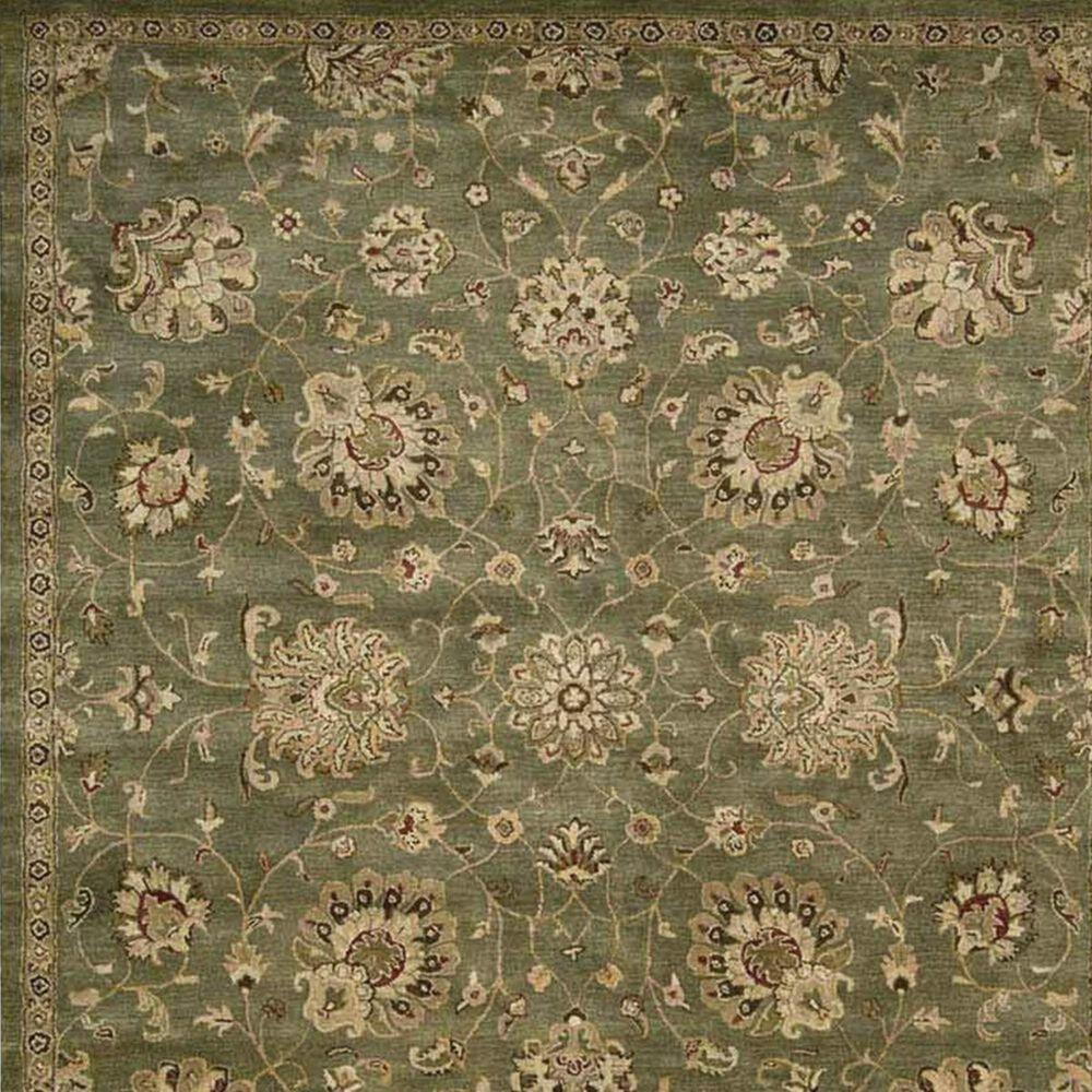 Nourison Jaipur JA46 7'9'' x 9'9'' Green Area Rug, , large