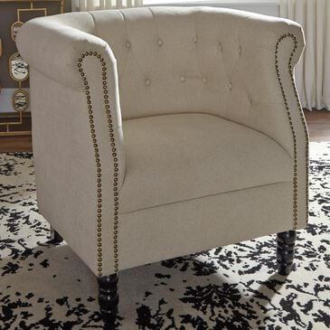 Signature Design by Ashley Jacquelyne Accent Chair in Natural, , large