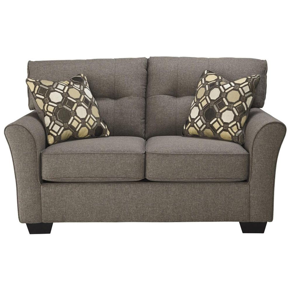 Signature Design by Ashley Tibbee Sofa and Loveseat in Slate, , large
