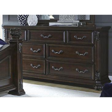 Belle Furnishings Messina Estates 7 Drawer Dresser in Cognac, , large