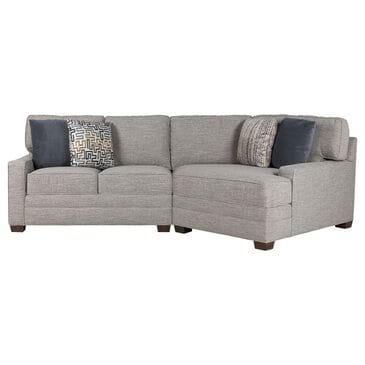 Huntington House 2-Piece Sectional in Soft Gray, , large
