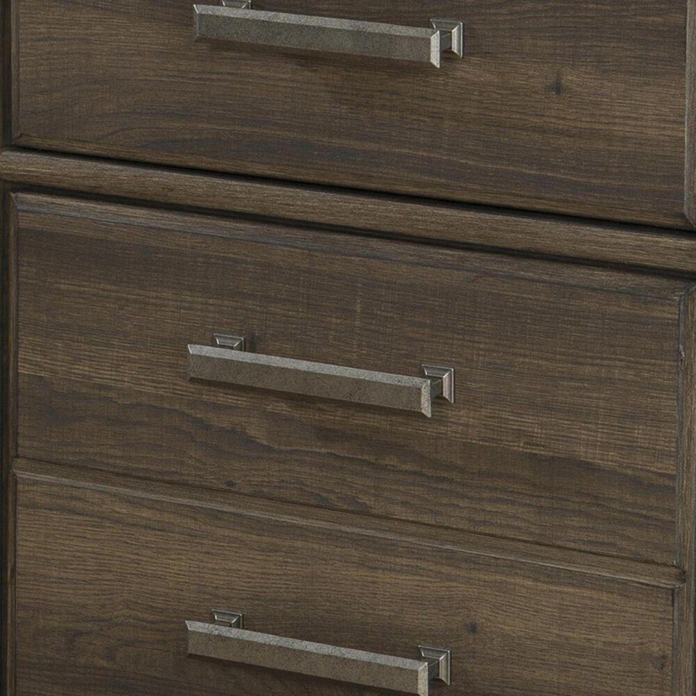 Signature Design by Ashley Juararo 4-Piece King Bedroom Set in Dark Brown, , large
