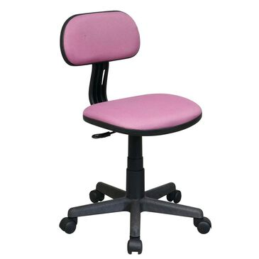 OSP Home Task Chair in Purple Fabric, , large