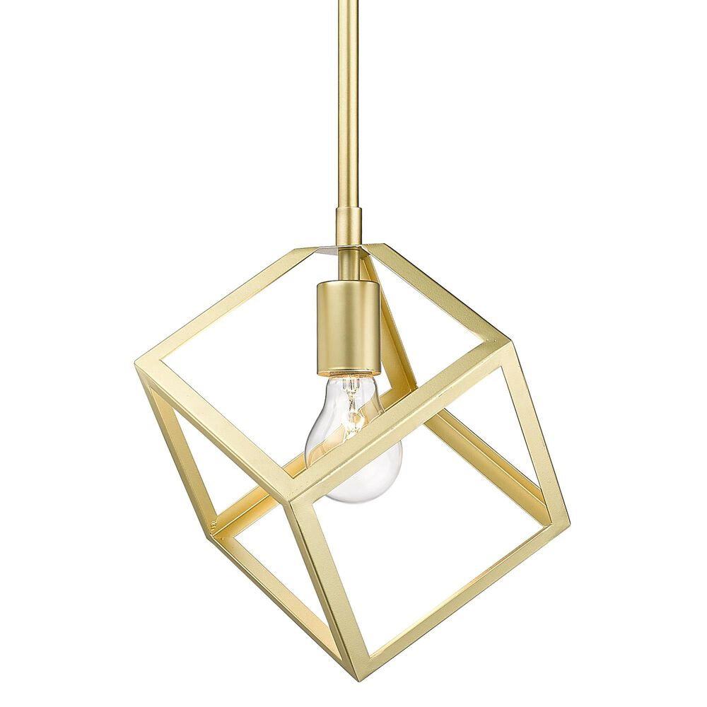 Golden Lighting Cassio Mini Pendant in Olympic Gold, , large