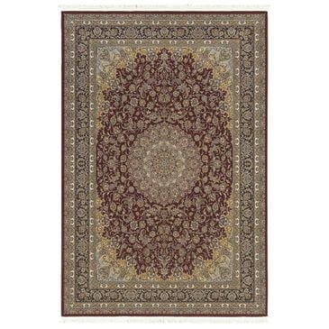 "Oriental Weavers Masterpiece 090R 7'10"" x 10'10"" Red Area Rug, , large"