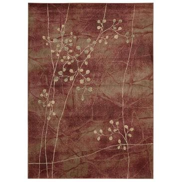 """Nourison Somerset ST74 3'6 x 5'6"""" Barbeque Flame Area Rug, , large"""