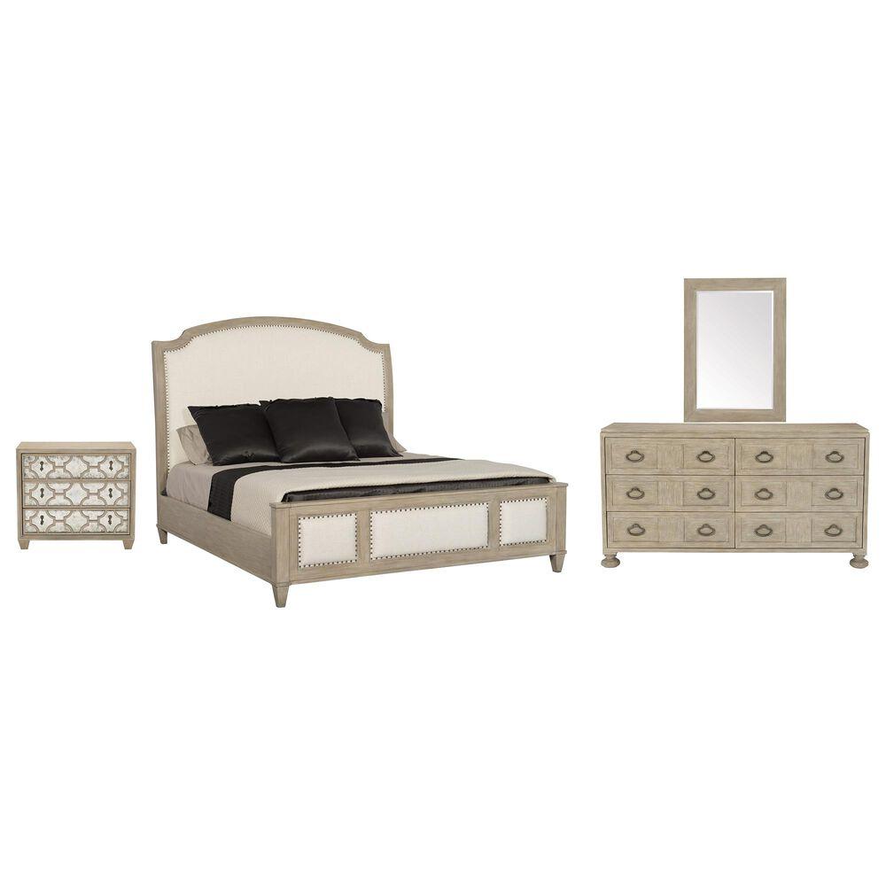 Bernhardt Santa Barbara 4 Piece Queen Bedroom Set in Sandstone, , large