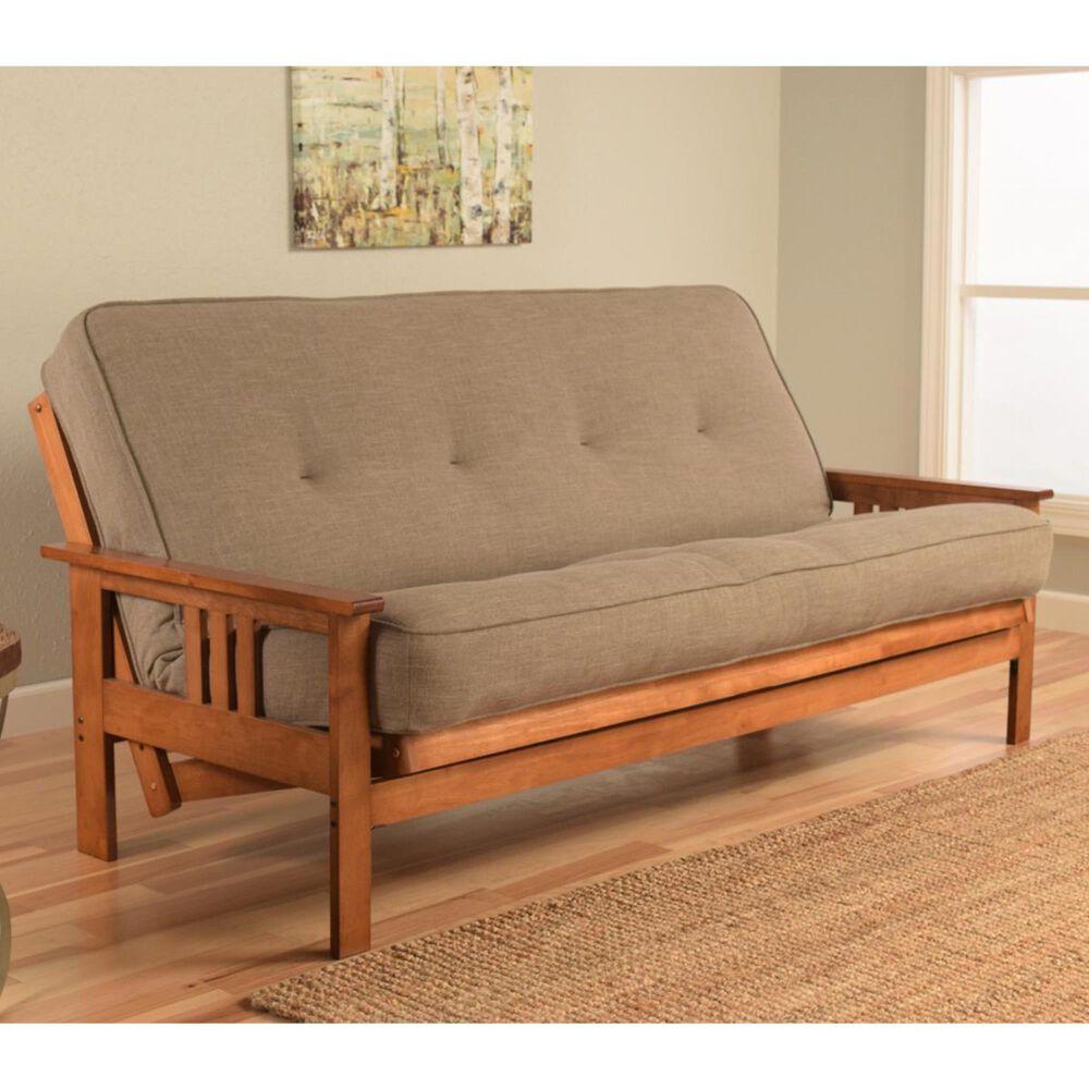 Kodiak Furniture Monterey Futon in Barbados with Linen Stone Mattress, , large