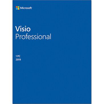 Microsoft Visio Professional 2019, , large