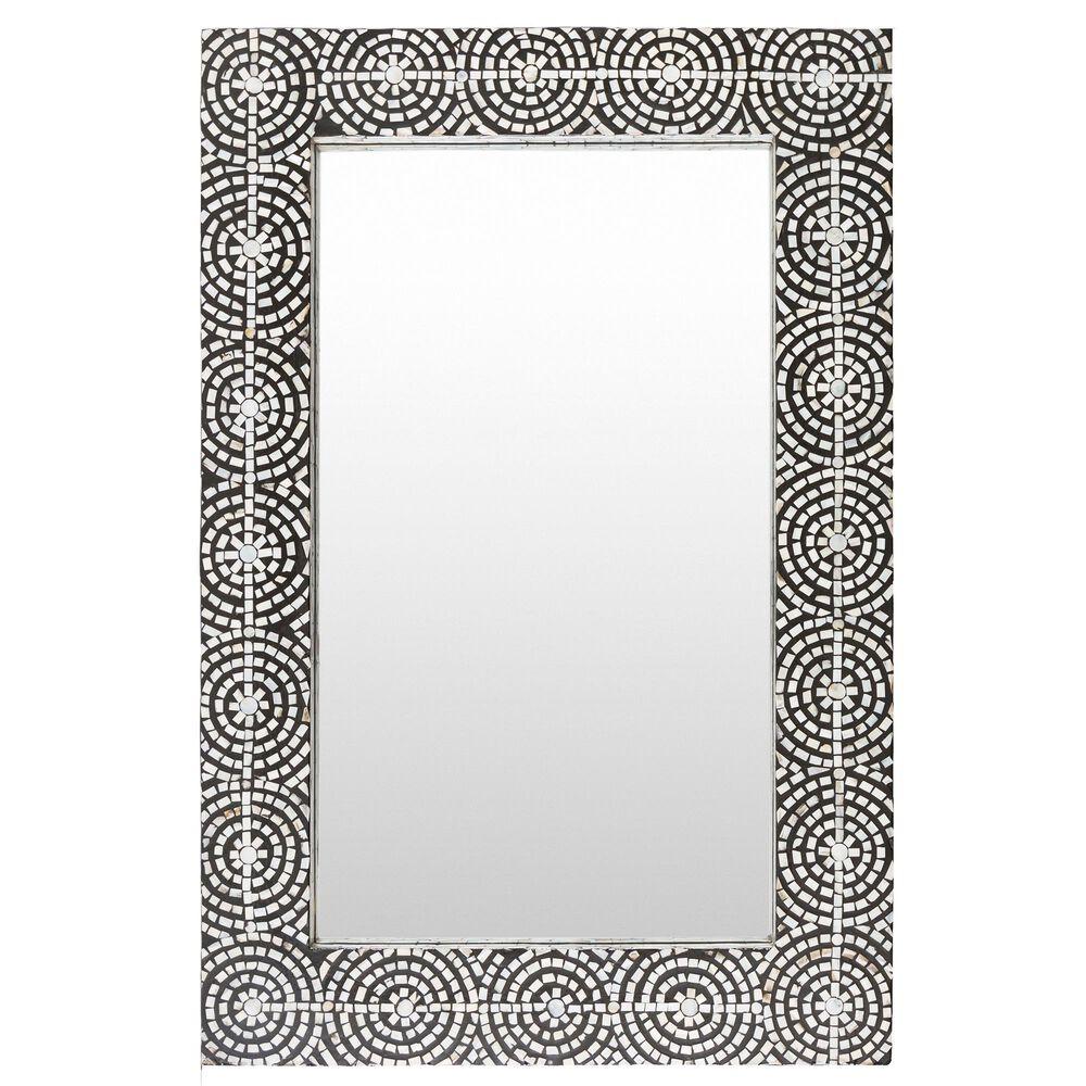 Surya Inc Pinon Wall Mirror in Black, , large