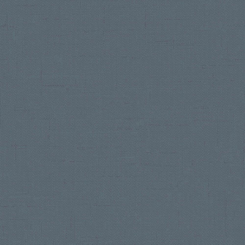 Tempaper Burlap Navy Peel and Stick Wallpaper, , large