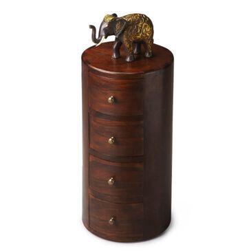 "Butler Living Room 22.5""H Pedestal Table in Artifacts, , large"