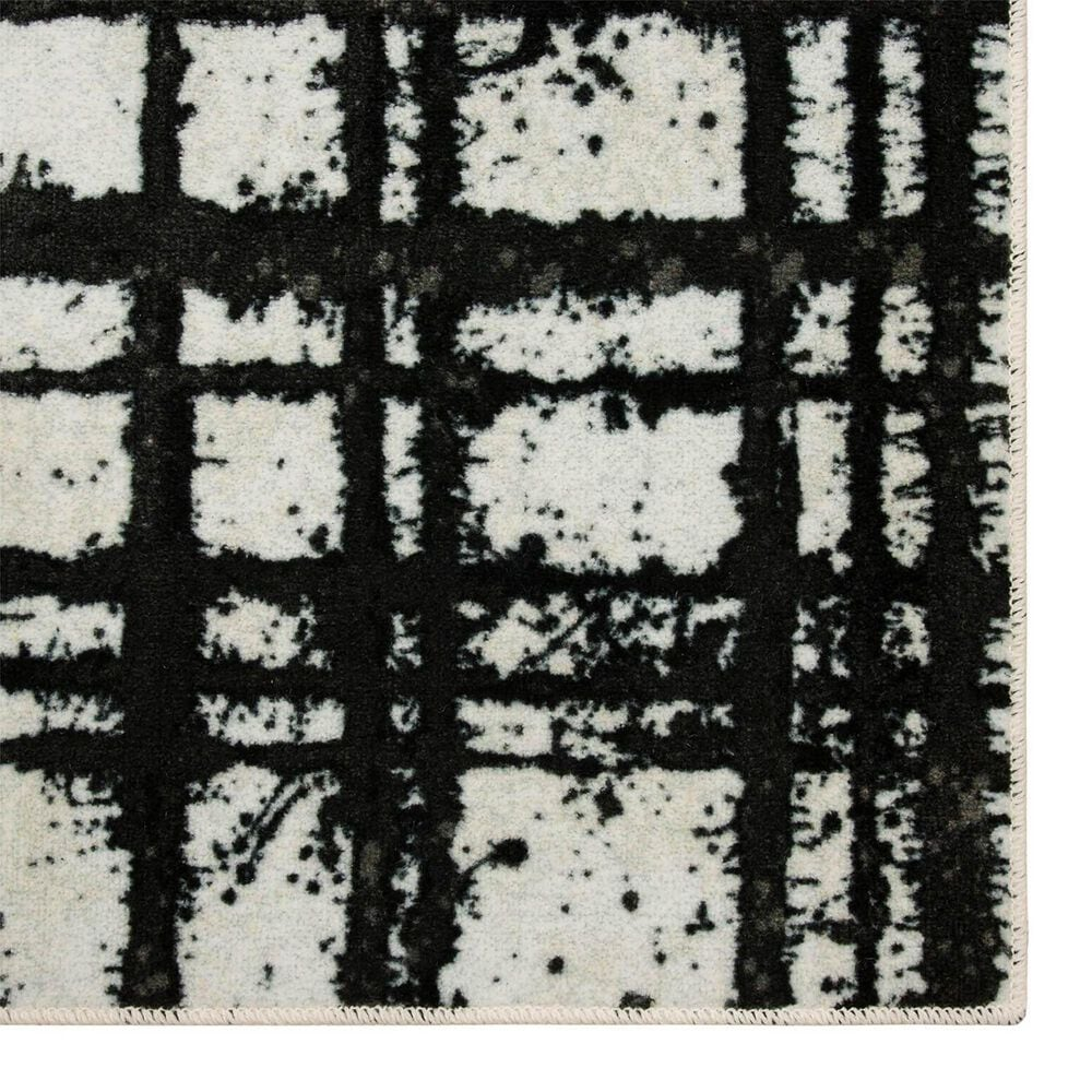 Karastan Evolution 8' x 10' Black Area Rug, , large