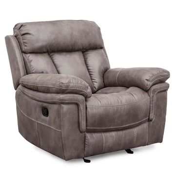 Oxford Furniture Glider Recliner in Gunmetal Gray, , large