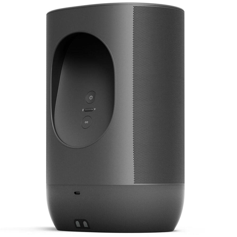 SONOS Move - Smart Portable Wi-Fi and Bluetooth Speaker - Black, , large