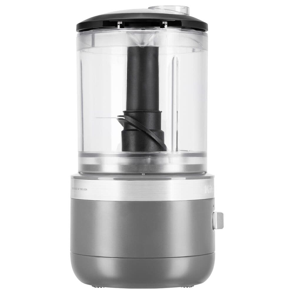KitchenAid Cordless 5 Cup Food Chopper in Matte Charcoal Grey, , large