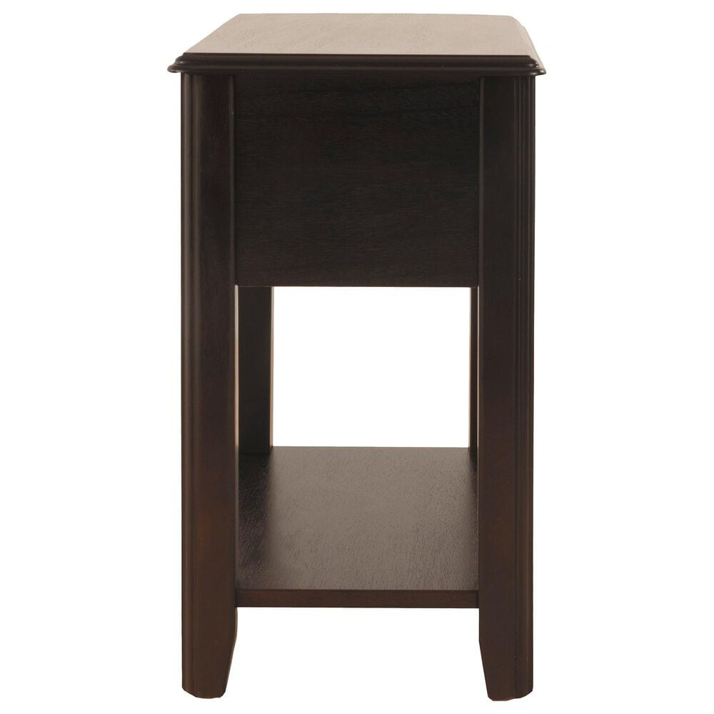 Signature Design by Ashley Breegin Chair Side End Table in Almost Black, , large