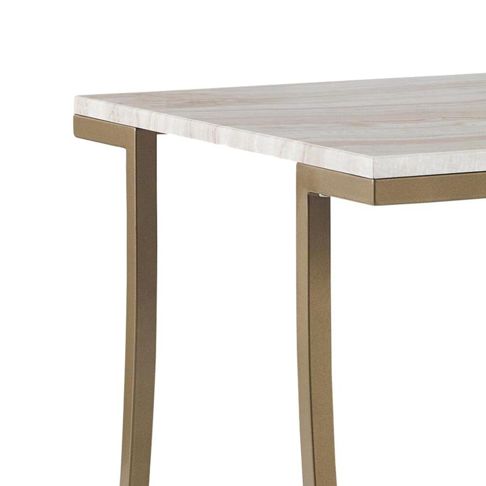 Dorel Asia Cecilia Side Table in Brass, , large