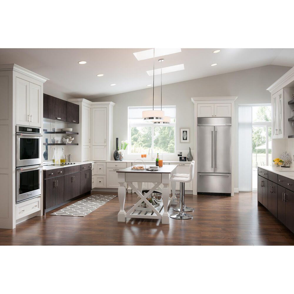 """KitchenAid 2-Piece Kitchen Package with Double Wall Oven and 36"""" Gas Cooktop in Stainless Steel, , large"""