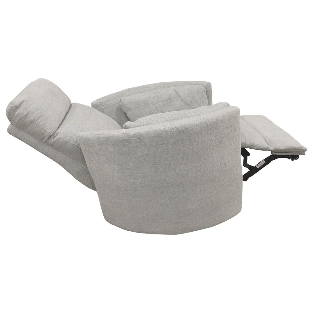 Simeon Collection Radius Power Swivel Glider Recliner in Mineral, , large