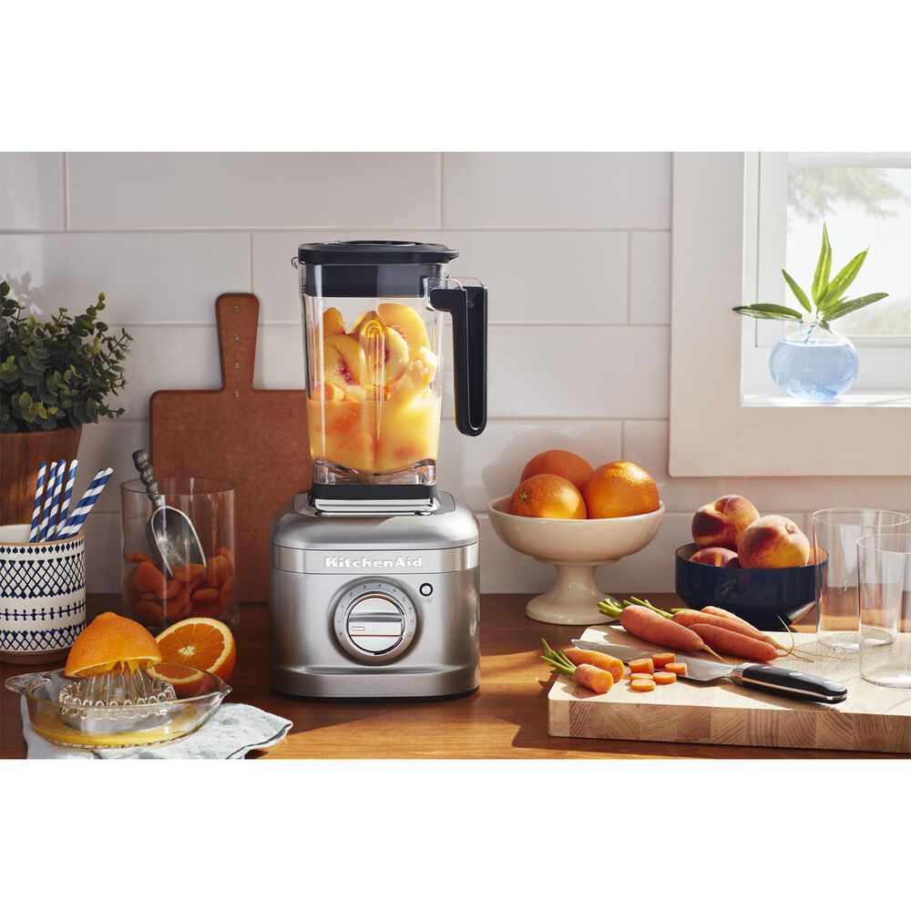 KitchenAid K400 Variable Speed Blender with Tamper in Contour Silver, , large