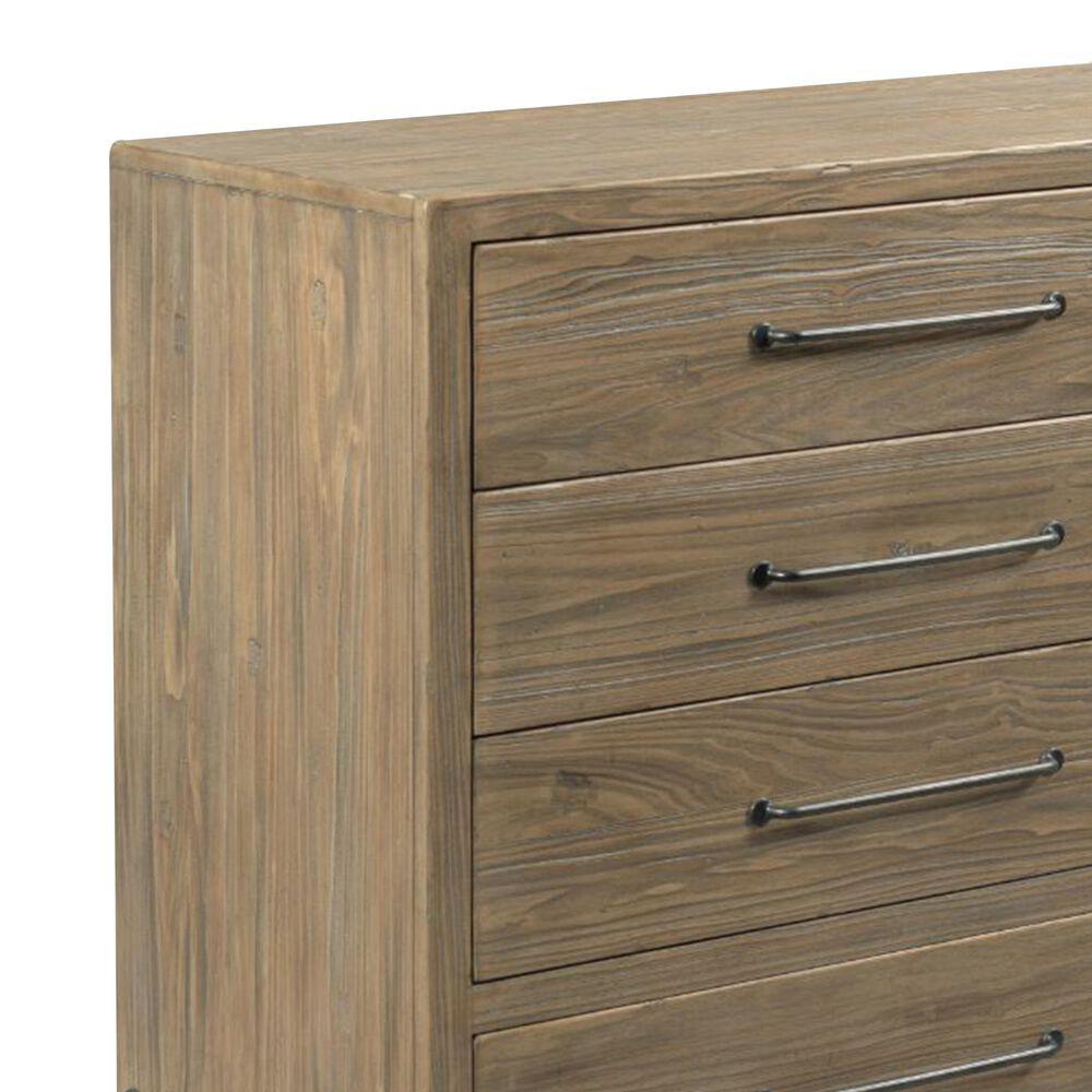 Kincaid Modern Forge Amity 8 Drawer Dresser in Sandy Brown Poplar, , large