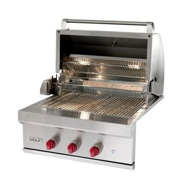 "Wolf 30"" Outdoor Liquid Propane Grill in Stainless Steel, , large"
