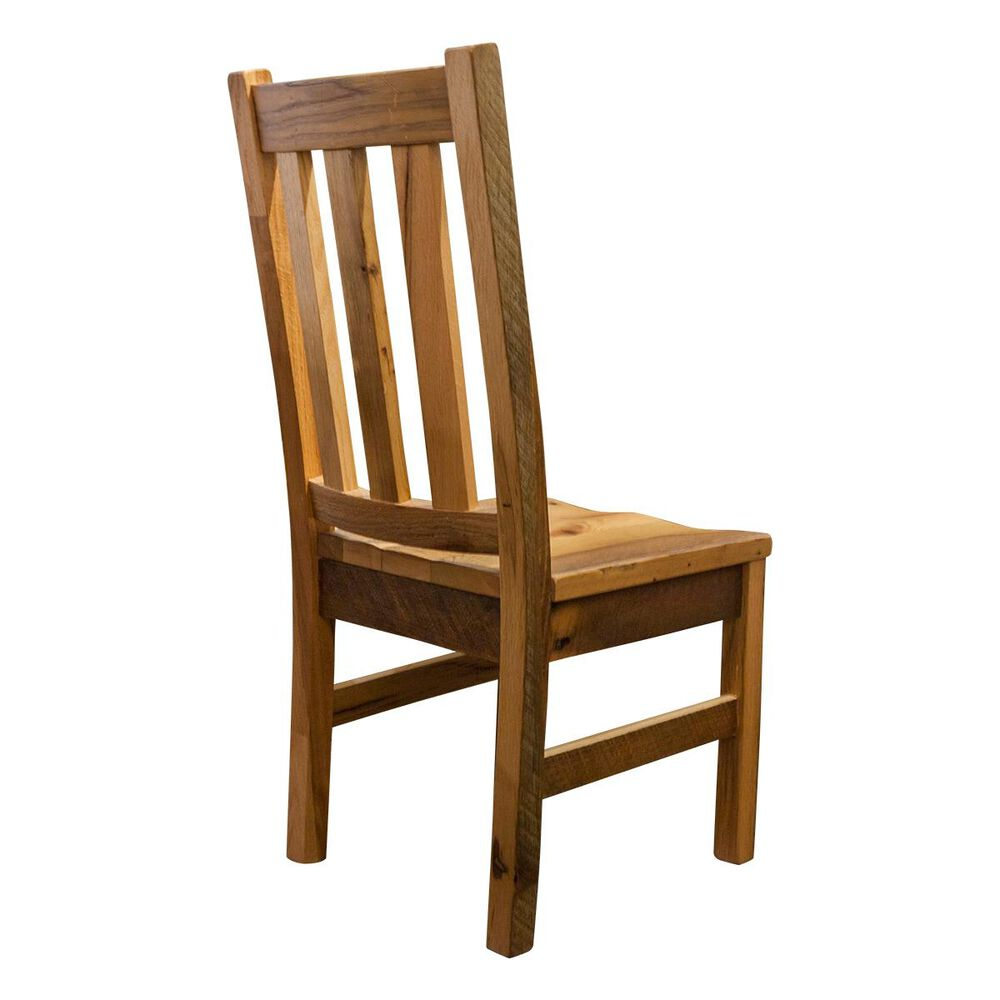 Daniel's Amish Collection Silver Lake Side Chair in Barnwood Oak, , large