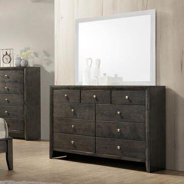 Claremont Evan 9 Drawer Dresser in Dark Grey, , large