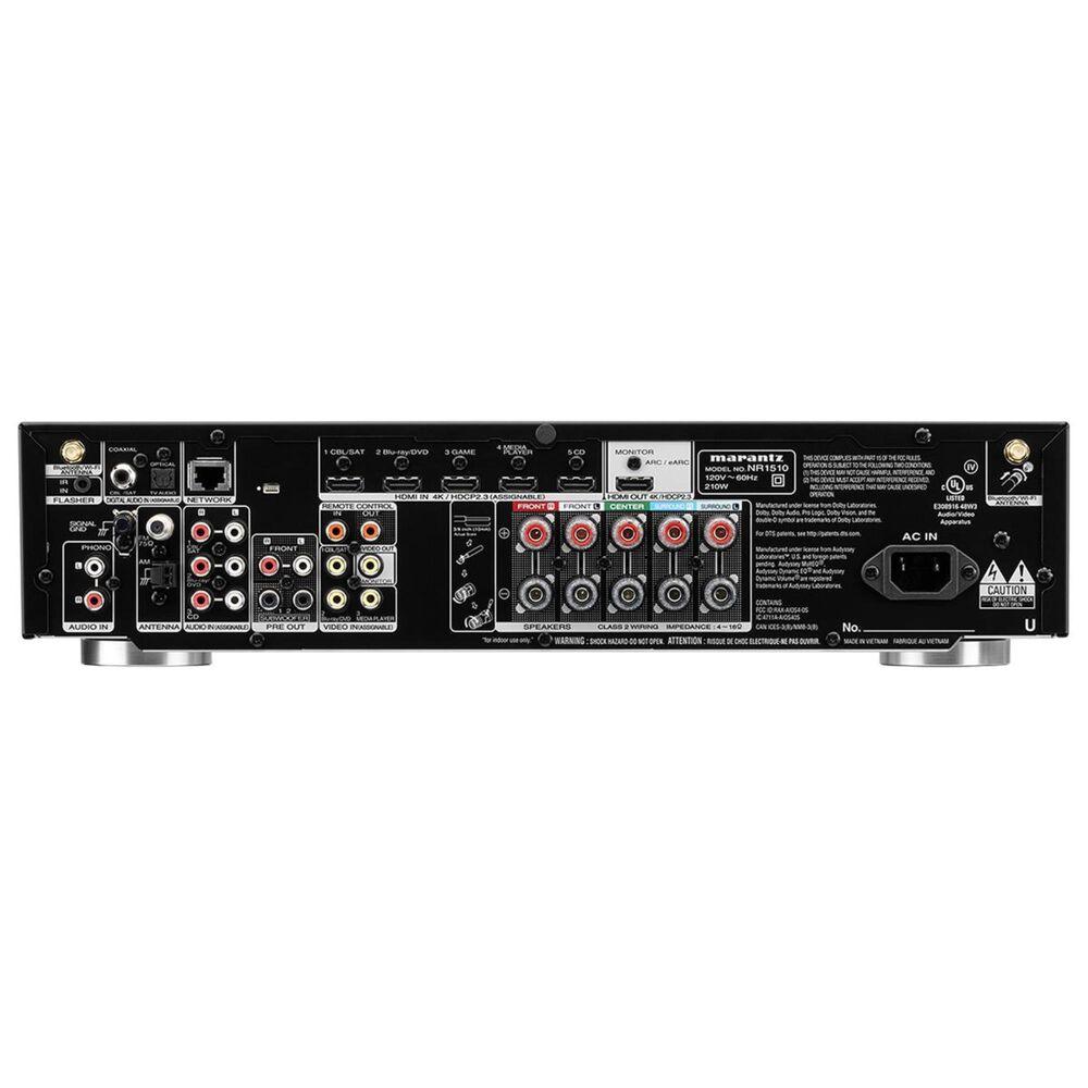 Marantz 5 Channel Slimline AV Receiver in Black, , large