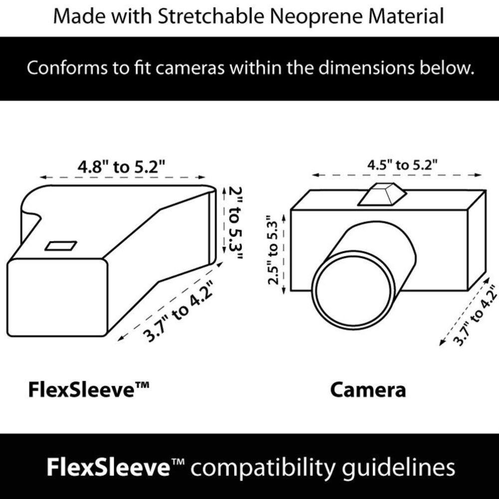 USA Gear DSLR Camera Sleeve Case w/ DuraNeoprene Technology, , large