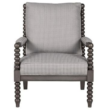 Lexington Furniture Maarten Chair in Gray and White Houndstooth, , large