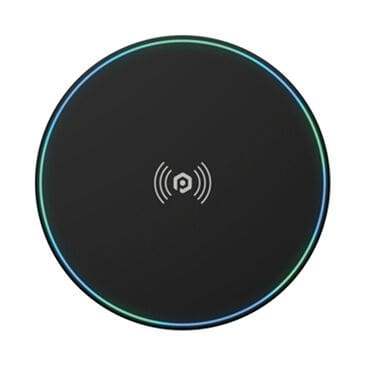 Pom Gear Power Pad High Speed Wireless Charging Pad in Black, Black, large