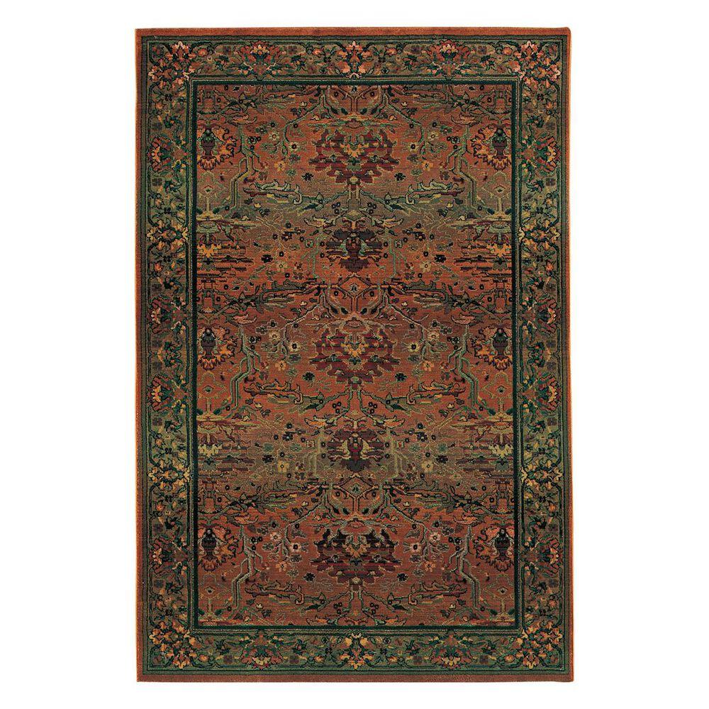 "Oriental Weavers Kharma 465J4 2"" x 3"" Green Scatter Rug, , large"