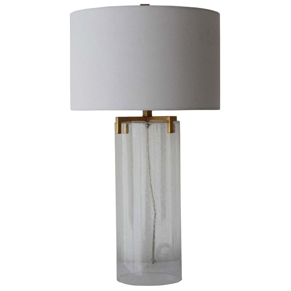 """Sagebrook Home 29"""" Table Lamp in Clear/Frost, , large"""