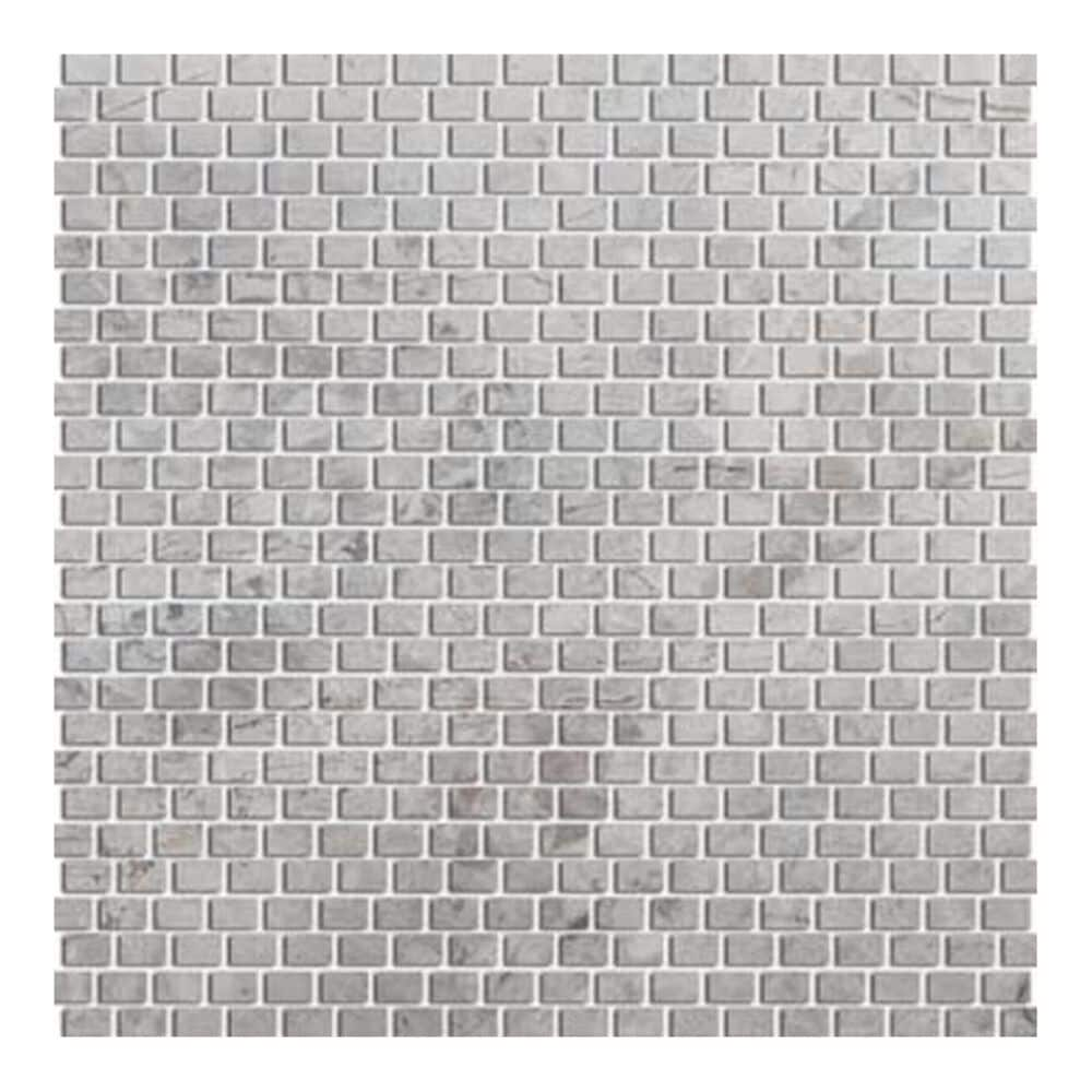 "Emser Silver 12"" x 12"" Natural Stone Mosaic Sheet, , large"