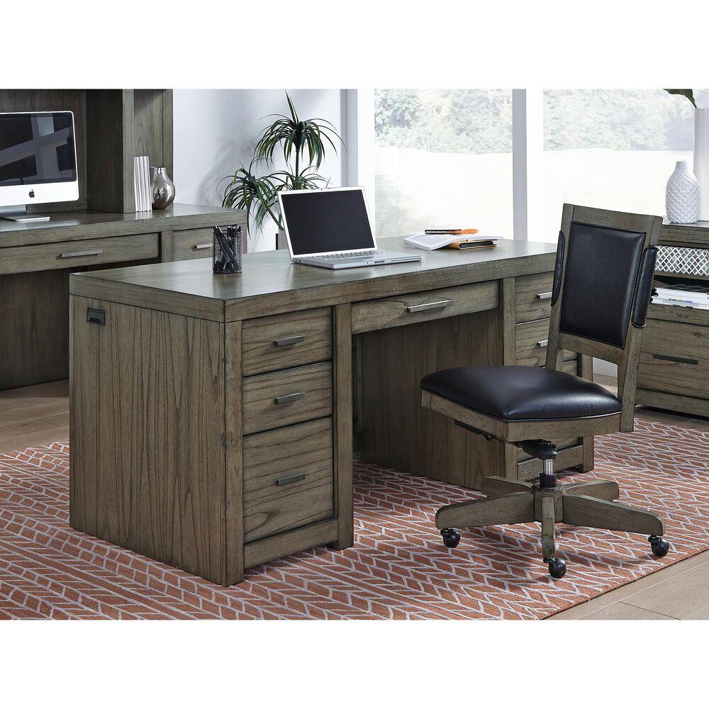 Riva Ridge Harper Point Desk Chair in Graystone, , large