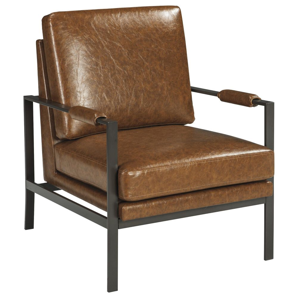 Signature Design by Ashley Peacemaker Accent Chair in Brown, , large