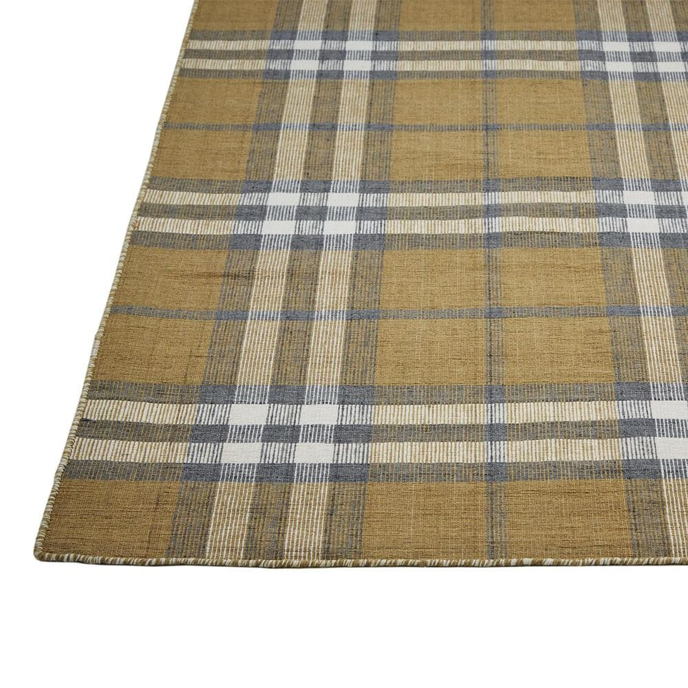 Feizy Rugs Crosby 0565F 3'6'' x 5'6'' Gold Area Rug, , large