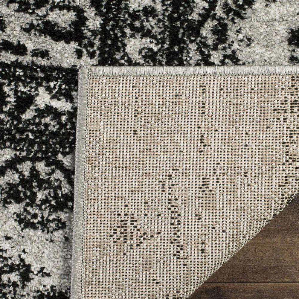 Safavieh Adirondack ADR101A-10SQ 10' x 10'  Silver/Black Square Rug, , large