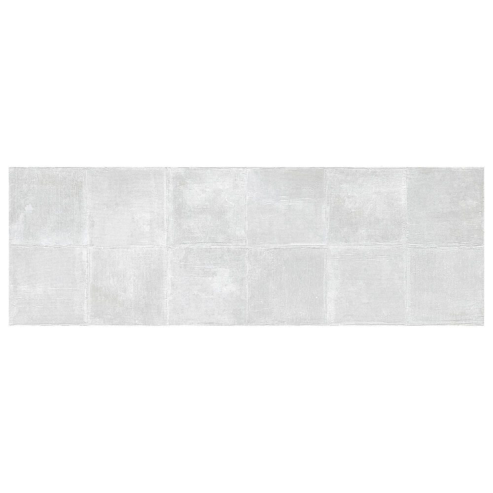 """Emser Synergy White Plaster 16"""" x 47"""" Ceramic Tile, , large"""
