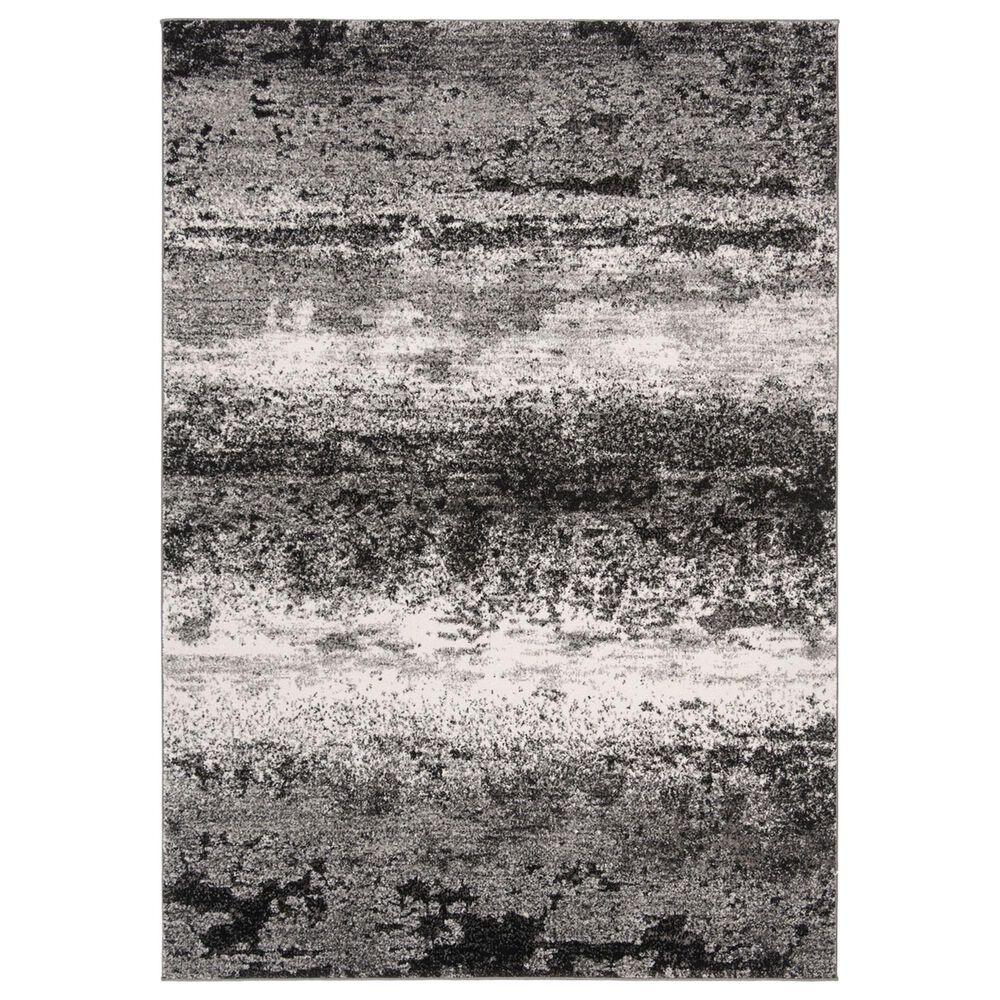 Safavieh Spirit 4' x 6' Charcoal and Light Gray Area Rug, , large