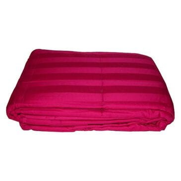 Epoch Hometex Cotton Loft Cotton Throw in Berry Red, , large