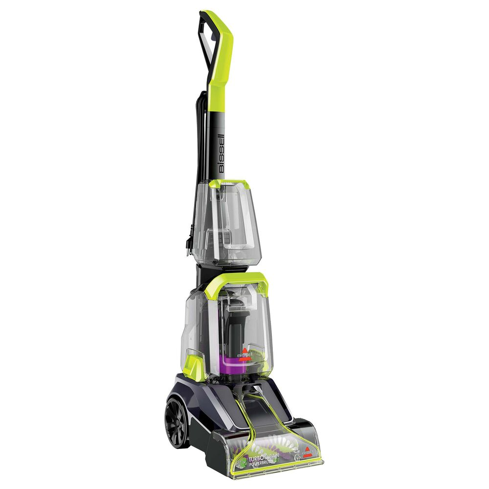 Bissell Turbo Clean Power Brush Pet Carpet Cleaner in Charcoal Gray, , large