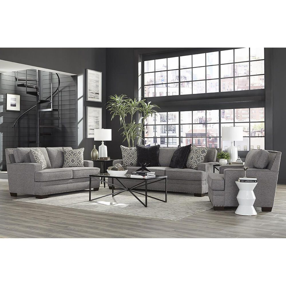 Inspirations Toni Loveseat in Gray, , large