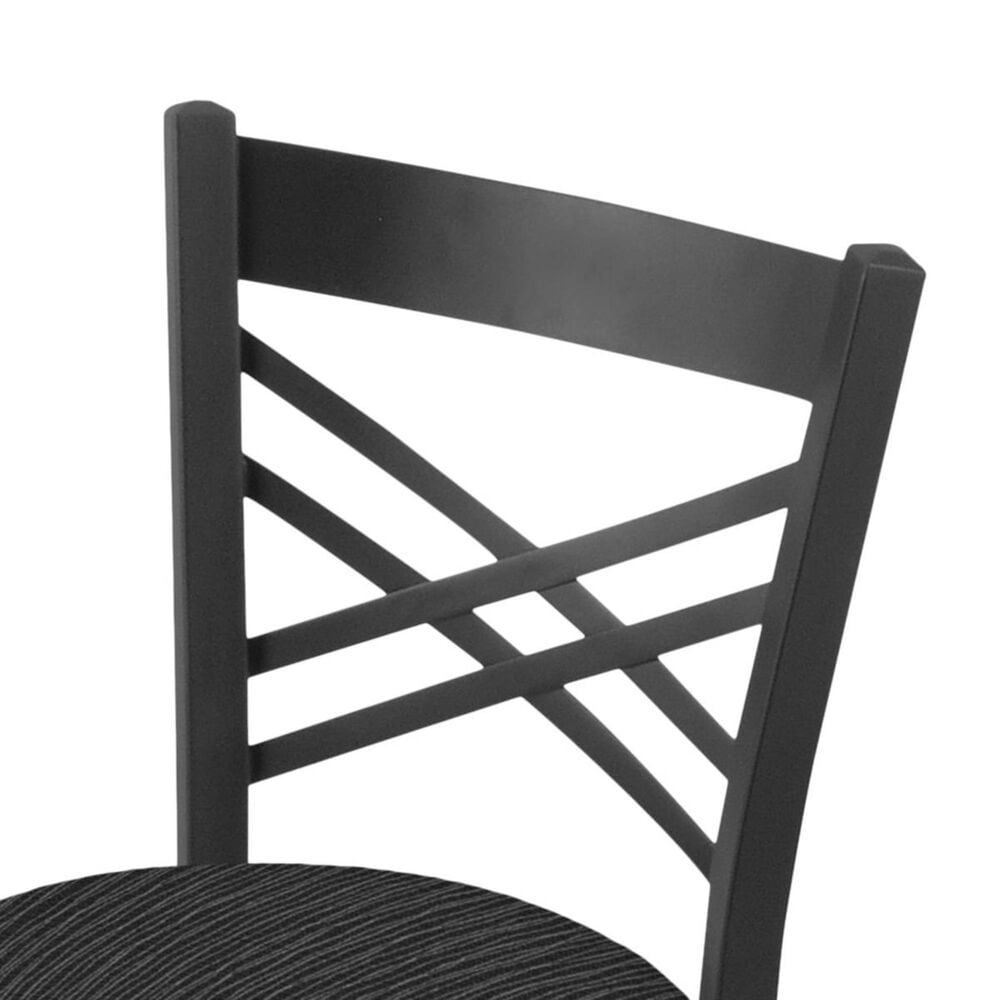 """Holland Bar Stool 620 Catalina 18"""" Chair with Pewter and Graph Coal Seat, , large"""