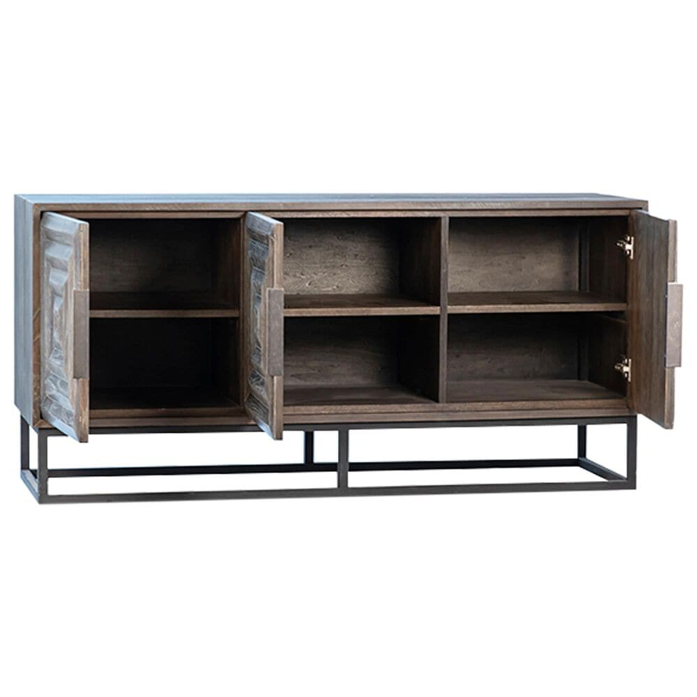 Blue Sun Designs Niccolo Sideboard in Brown/Grey, , large