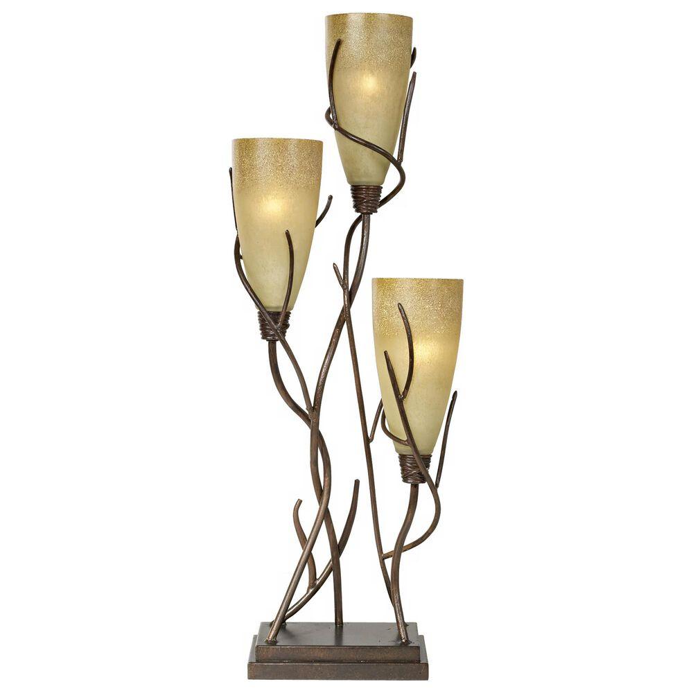 Pacific Coast Lighting Industrial El Dorado Uplight Table Lamp in Madera Rust, , large