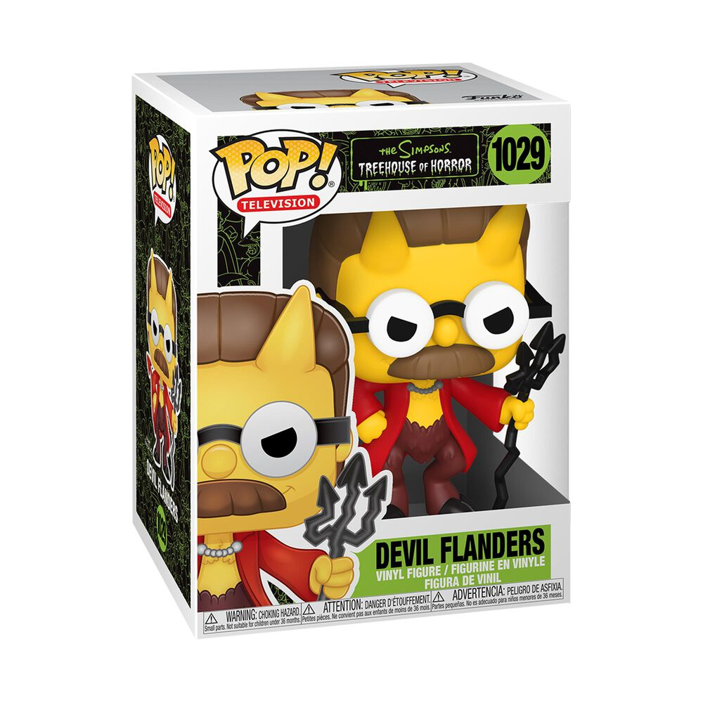 Funko Pop! Animation: Simpsons Devil Flanders, , large