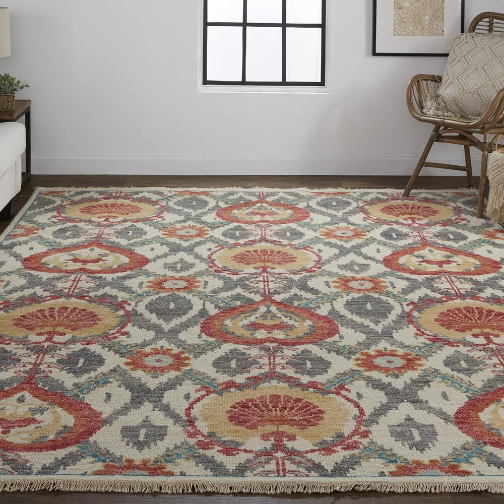 """Feizy Rugs Beall 5'6"""" x 8'6"""" Rust Area Rug, , large"""
